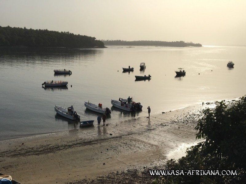 Photos Bijagos Island, Guinea Bissau : On boat -