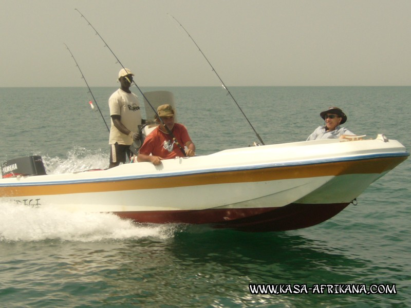 Photos Bijagos Island, Guinea Bissau : On boat - 5m10m boat