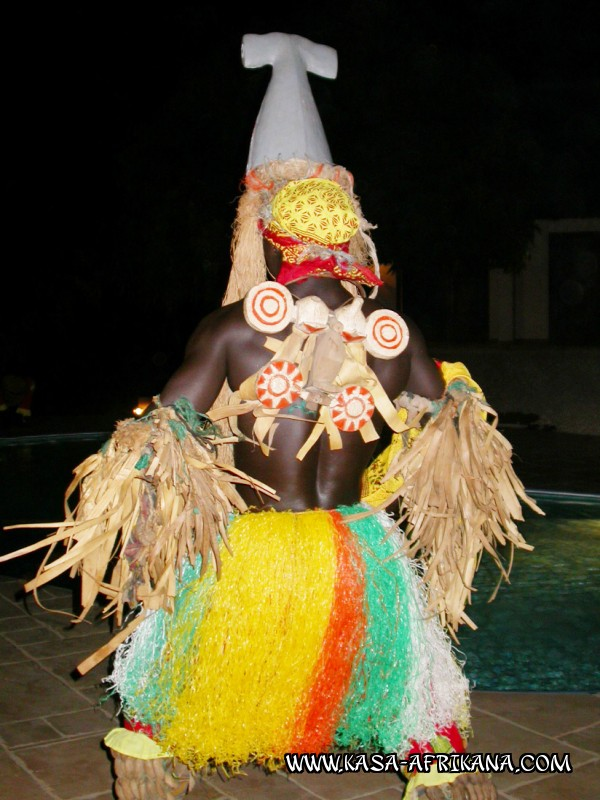 Photos Bijagos Island, Guinea Bissau : The Bijagos people - Bijagos dancers