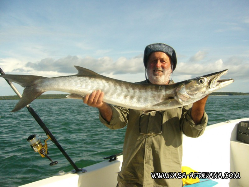 Photos Bijagos Island, Guinea Bissau : Our best catches - Barracuda