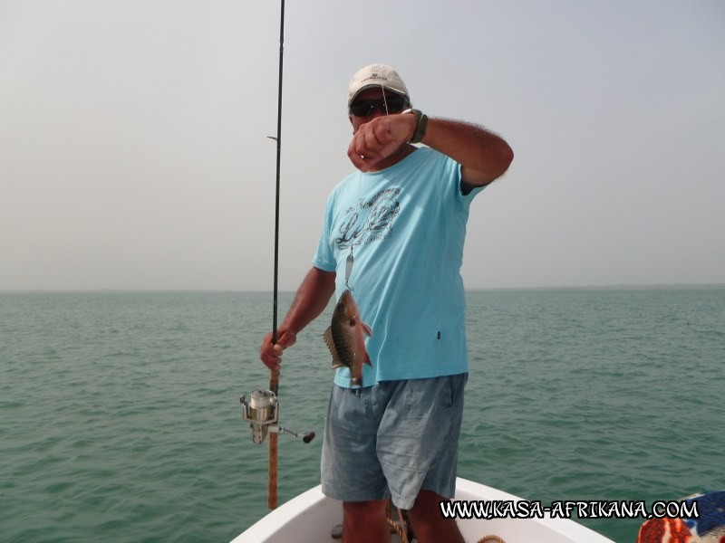 Photos Bijagos Island, Guinea Bissau : Our best catches - A monster