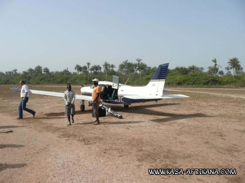 Photos de l'archipel Bijagos Guinée Bissau : Pittoresque - Avion Bissau . Bubaque