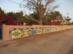 Photos of Bijagos Islands in Guinea Bissau : Surrounding wall