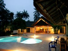 Luxurious hotel on Bubaque island in the Bijagos